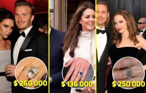 ცნობილი ქალბატონების 15 ყველაზე ძვირადღირებული ნიშნობის  ბეჭედი