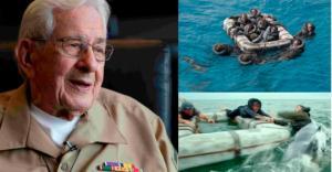 """""""წყალში 4 დღე გავატარე, 600 ადამიანის ყვირილი მესმოდა, რომელთაც ზვიგენები ცოცხლად ჭამდნენ"""""""