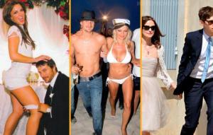 """ცნობილი პატარძლების 15 ყველაზე უცნაური და ორიგინალური """"საქორწილო კაბა"""""""
