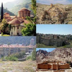 ქართული მონასტრები ახლო აღმოსავლეთსა და ბიზანტიაში