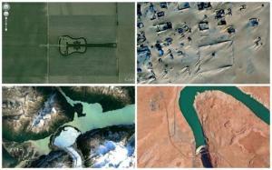 Google Earth - ით  დანახული  დედამიწის გასაოცარი, უჩვეულო  ადგილები