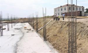 ზემო მაჩხაანში ახალი სკოლის მშენებლობა მიმდინარეობს