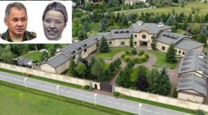 რუსეთის თავდაცვის მინისტრმა მეგობარ ქალს წარმოუდგენლად ძვირადღირებული სასახლე უყიდა რუსი ოლიგარქების დაცულ დასახლებაში
