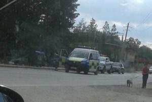 ქალაქ დედოფლისწყაროში ავტოავარია მოხდა