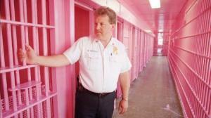 ეს  ბარბის  სახლი არ გეგონოთ,  ეს შვეიცარიული ციხეა,  და იცით რატომ არის  ვარდისფერი?