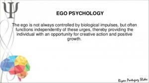 ეგო-ფსიქოლოგია და ფრომის წვლილი მის განვითარებაში