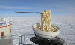 ასტრობიოლოგის ძალიან საინტერესო ფოტოები: რა მოუვა საკვებს თუკი მას ანტარქტიდაზე მოვამზადებთ?!