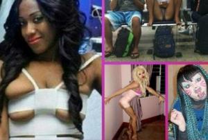 შენი ოცნების ქალი - ყველაზე უცნაური და ვულგარული ქალები ინტერნეტიდან (ფოტოები)