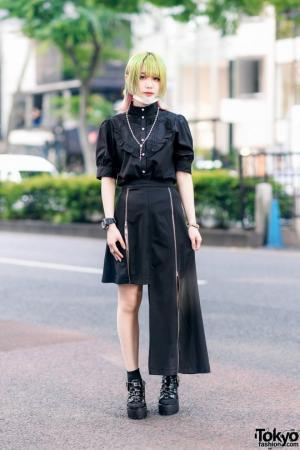 როგორი სამოსით დადის იაპონიის ქუჩებში ახალგაზრდობა (ნაწილი 9)
