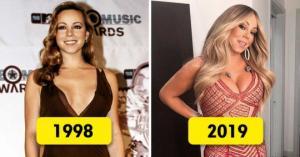 აი, როგორ შეიცვალა  თქვენთვის  ცნობილი 15  მომღერალი  წლების განმავლობაში