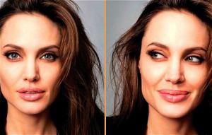 21-ე  საუკუნის ქალღმერთი: ფოტო, რომელიც ყველაზე უკეთ განმარტავს, თუ რატომ სურს მსოფლიოში ყველა ქალს ჯოლის ჰგავდეს