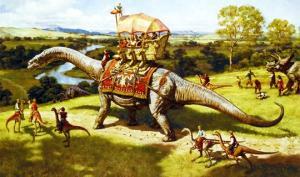 ადამიანიები დინზავრებთან ერთად ცხოვრობდნენ? – მხოლოდ ფაქტები და არტიფაქტები
