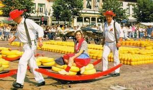 654 წლიანი ტრადიცია  – ჰოლანდიური ყველის ბაზრობა