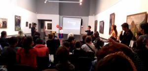 სოფელ მირზაანში, ფიროსმანის მუზეუმში ფოთელმა მოსწავლეებმა სპექტაკლი წარმოადგინეს
