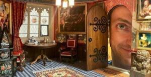 ბრიტანელი მამაკაცი 30 წელია აშენებს ციხე-დარბაზს....თუმცა მინიატურულს
