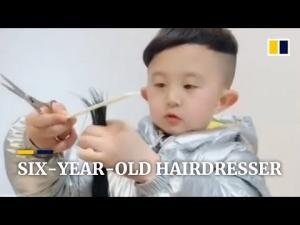 ექვსი წლის პარიკმახერი ჩინეთიდან, რომელიც სოციალური ქსელის ვარსკვლავი გახდა(ვიდეო)