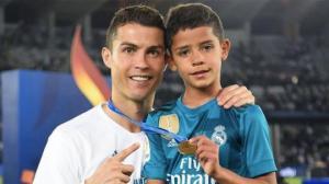 კრიშტიანუ რონალდუს შვილმა 28 თამაშში 58 გოლი გაიტანა