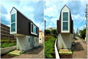 უჩვეულო სახლი იაპონიაში, რომელიც შიგნიდან  უფრო დიდია, ვიდრე გარედან