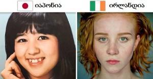 """როგორ წარმოუდგენიათ """"იდეალური"""" ქალი მსოფლიოს 11 ქვეყანაში"""