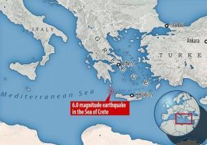 ძლიერი მიწისძვრა საბერძნეთში