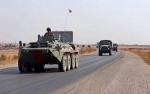 რუსეთის თავდაცვის სამინისტრომ ჩრდილოეთ სირიაში ახალ სამხედრო ბაზაზე ახალი სამხედრო ძალა და მატერიალური საშუალებები გადაისროლა