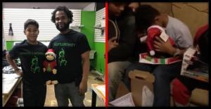 მამამ შვილს გარდაცვლილი დედის ხმით მოსაუბრე სათამაშო აჩუქა, ნახეთ, ვაჟის რეაქცია (ვიდეო)