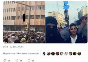 ერაყში დემონსტრანტებმა 16 წლის მოზარდი მოკლეს,ცხედარი მოედანზე დაკიდეს და მის ფონზე მხიარული სელფი გადაიღეს