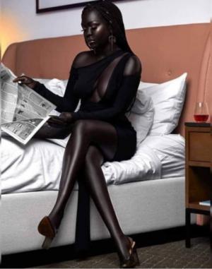 """""""კუნაპეტ ღამესაც"""" აქვს თავისი რომანტიკა, ფერადკანიანი მოდელი რომლის ახლობლურ ჩახუტებაზე უარს ნამდვილად არ ვიტყოდი"""