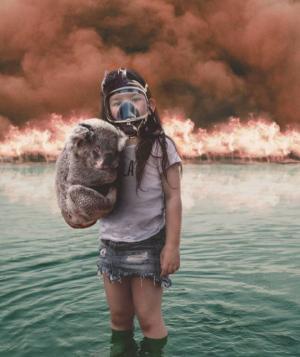 რა ხდება ავსტრალიაში: ემოციური ფოტო და ვიდეო მასალა