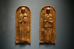 საქართველოდან გატანილი, ქართული საგანძური, გამოფენილია ერმიტაჟში