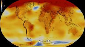 ვიდეო: ნასამ გამოაქვეყნა ვიდეო, რომელშიც ნაჩვენებია კლიმატის ცვლილება 140 წლის განმავლობაში