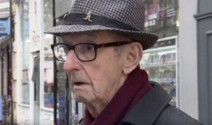 ქუჩაში გამოკითხვა რეპორტიორისთვის  შოკის მომგვრელი გამოდგა(ვიდეო)