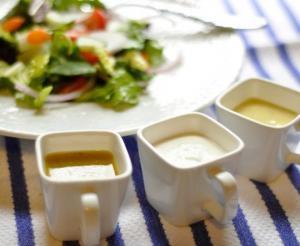 5 გემრიელი სოუსი სალათებისთვის