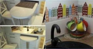 გენიალური იდეა, როგორ ვაქციოთ სამზარეულო კრეატიულ და მოსახერხებელ სივრცედ?