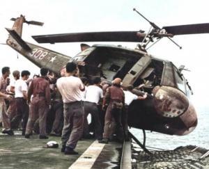 რატომ გადაყარეს ამერიკელებმა 46 ვერტმფრენი ზღვაში ვიეტნამის ომის დროს