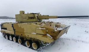 """""""ურალვაგონმშენის"""" მიერ შექმნილმა მართვადმა  საცეცხლე მოდულმა """"АУ-220М:-მა ტესტირება გაიარა"""