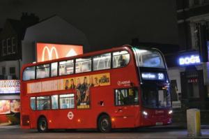 როგორ ცხოვრობს კაცი,რომელსაც  21 წელია ლონდონის  ავტობუსებში სძინავს
