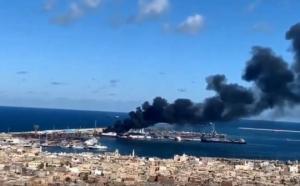 ლიბიაში ხალიფა ჰაფტარის მეომრების მიერ თურქული სამხედრო გემის აფეთქებას თურქული მხარე უარყოფს, თუმცა საინფორმაციო საშუალებები ადასტურებენ