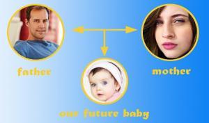 დედა ნახე, მამა ნახე...  –  როგორ დავადგინოთ  მომავალი შვილის გარეგნობა წინასწარ