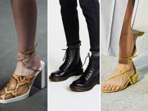 2020 წლის მოდური ფეხსაცმელები