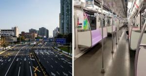როგორაა დაცარიელებული 24 მილიონი მოსახლეობის მქონე შანხაის ქუჩები