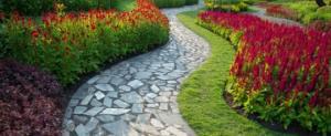 ორიგინალური ბილიკები ბაღების და ეზოების მოსაწყობად – 80 საოცარი იდეა