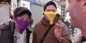 იაპონიაში ახალგაზრდა მამაკაცებმა ქალის საცვლები კორონავირუსის საწინააღმდეგო ნიღბებად გამოიყენეს