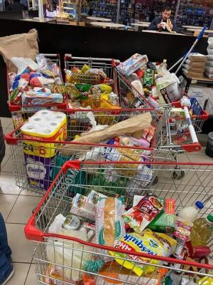 ვირუსის გამო ხალხი პანიკაშია , საქართველოში მოსახლეობამ საკვების მომარაგება დაიწყო