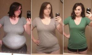 ქალი, რომელმაც 40 კილო დაიკლო 3 უმნიშვნელო ცვლილებით