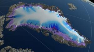 გრენლანდიაში ყინულის დნობამ ორ თვეში მსოფლიო ოკეანეების დონე 2,2 მილიმეტრით გაზარდა