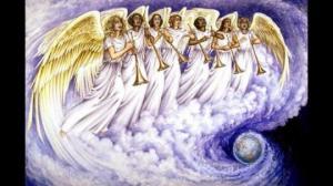 ბიბლია, ანგელოზთა საყვირთა ხმის წინასწარმეტყველება