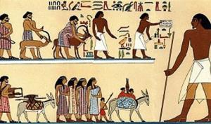 ადამიანი ძველ ეგვიპტეში მხოლოდ «საერთო სურათის»  დანამატი იყო