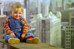 25 წლის შემდეგ — ჩვილი ფილმიდან  «ბავშვი სასეირნოდ მიდის»