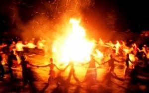 """""""არული კუდიანებსა"""" -  რა არის ჭიაკოკონობა  და რატომ  ანთებენ ცეცხლს  ვნების კვირის ოთხშაბათს"""